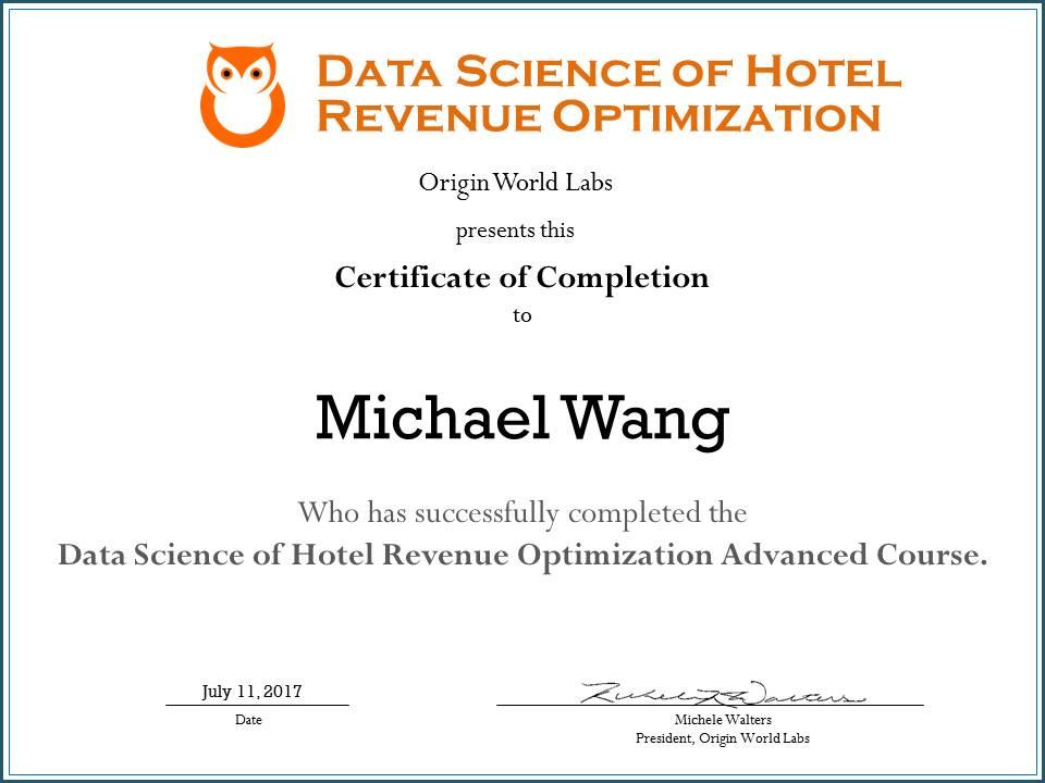 Hotel Revenue Data Science | Hotel Revenue Growth